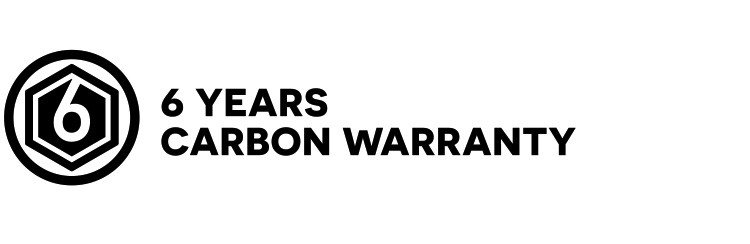 6 years carbon warranty