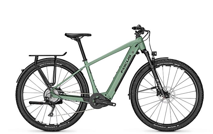 La nuova FOCUS AVENTURA² 6.8 con ruote da 29 o 27,5 (in taglia S e XS).