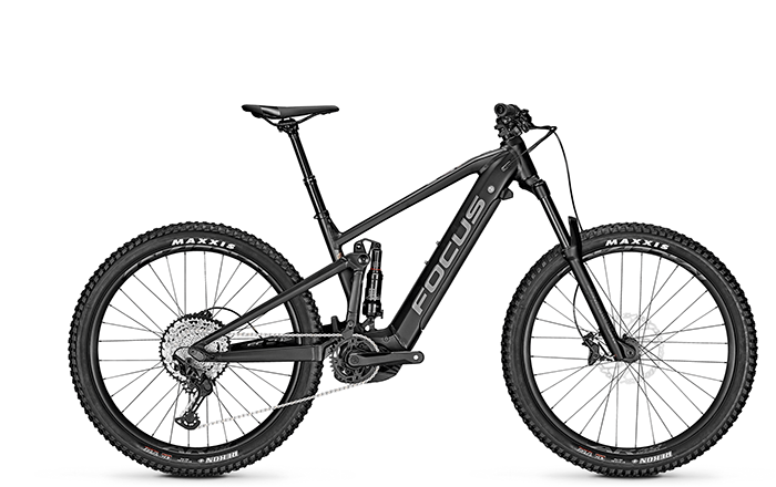 The new e-MTB FOCUS JAM² 6.7 PLUS with 27+ Bereifung.