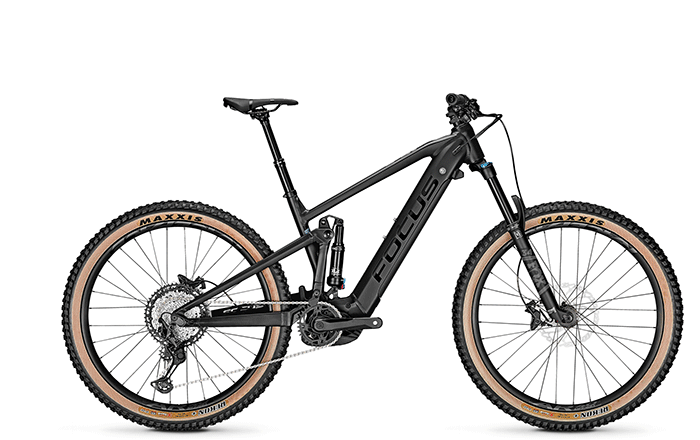 The new e-MTB FOCUS JAM² 6.8 PLUS with 27+ wheels.