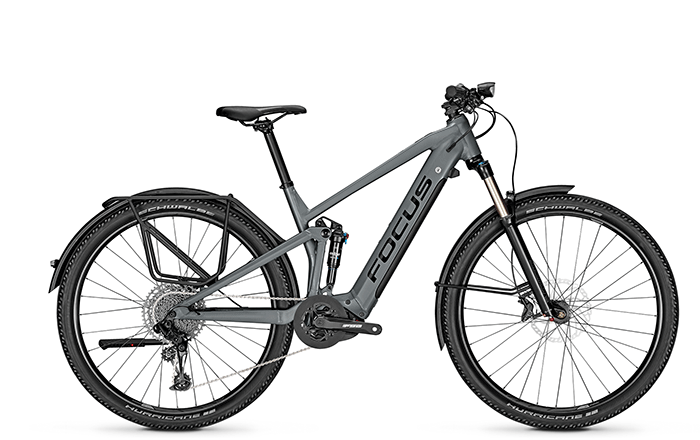 The new e-MTB FOCUS THRON² 6.7 EQP with full equipment.
