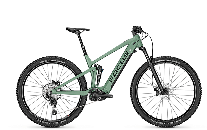 The new e-MTB FOCUS THRON² 6.8 with 29 inch wheels.