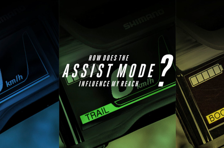 HOW DOES THE ASSIST MODE INFLUENCE MY REACH?