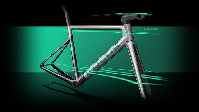 Das FOCUS Bikes IZALCO MAX Aero-Rennrad besticht durch Aerodynamik, weil es im Windkanal optimiert wurde.