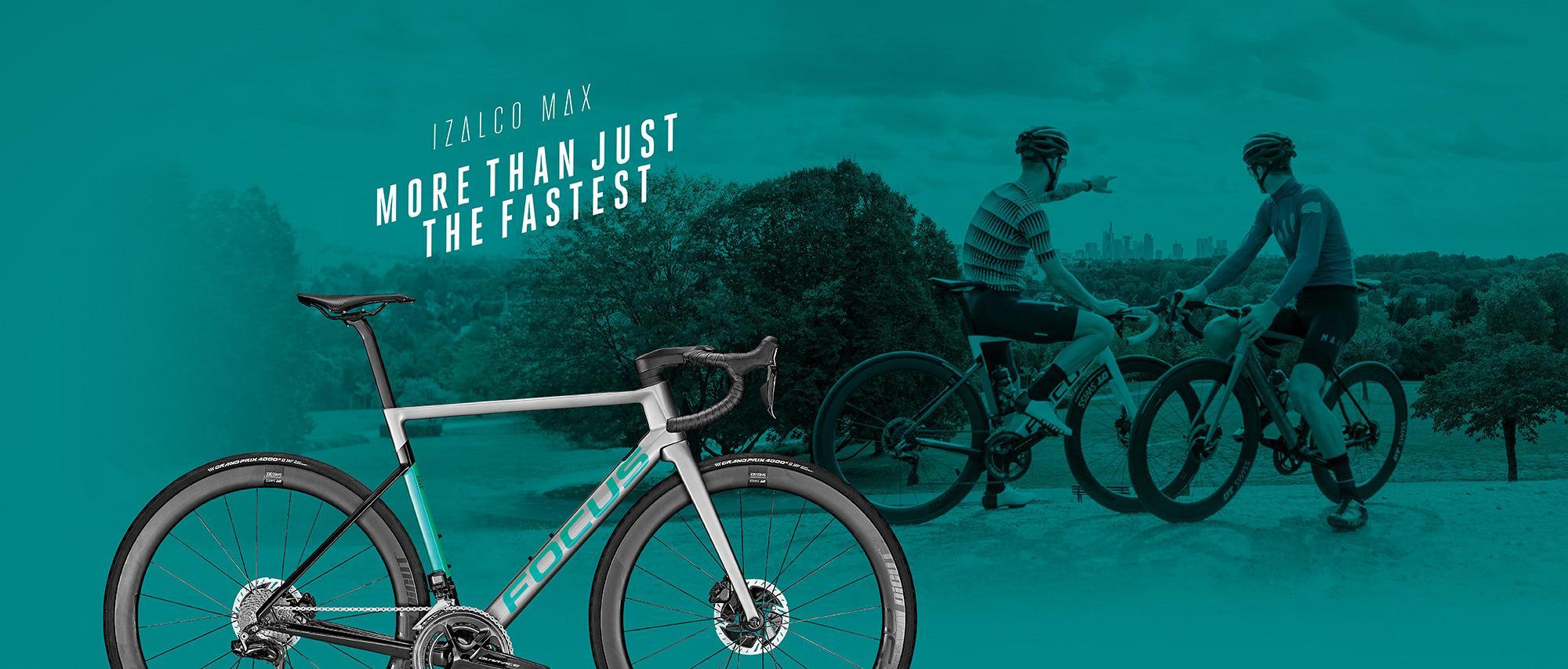 Das FOCUS Bikes IZALCO MAX Aero-Rennrad ist mehr als nur das Schnellste.