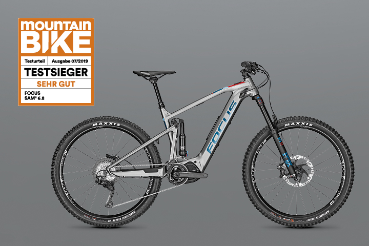 Mountainbike Test 2019 - SAM² 6.8