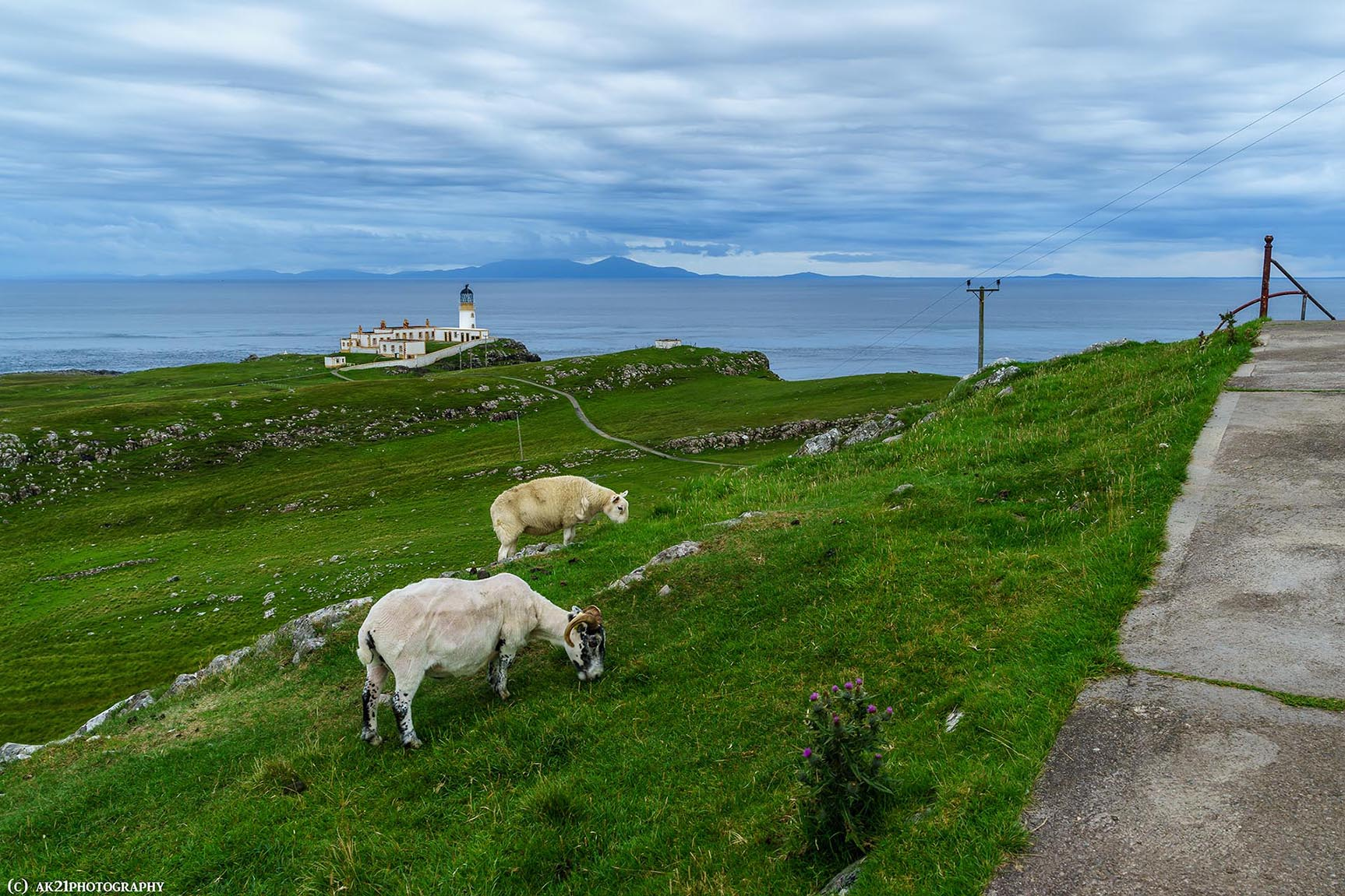 Éviter les obstacles en Écosse